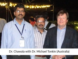 Dr Chawla with Plastic Surgeon
